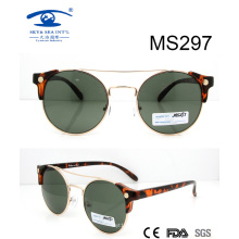 2016 New Arrival CE& FDA Lady Fashion Metal Sunglasses for Wholesale (MS297)